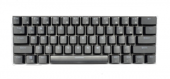 Royal Kludge RK61 White Case Black Keycaps