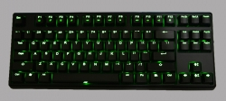 Keycool 87 Green LED