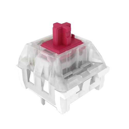 Kailh Speed Pro Burgundy Keyswitch - Plate Mount - Linear - 10 Pack