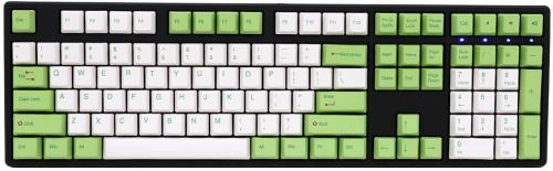 Ducky One Green / White