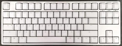 Ducky One White Case PBT TKL