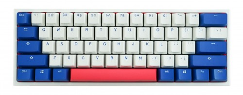 Ducky One 2 Mini Bon Voyage White LED