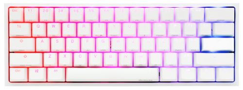 Ducky One 2 Mini White RGB