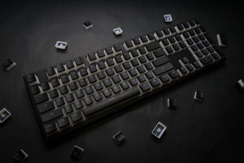 Ducky 108 Key PBT Seamless Doubleshot Pudding Keycap Set