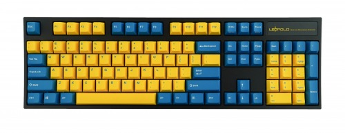 Leopold FC900R Yellow/Blue PD