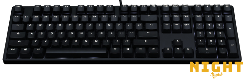 Mechanical Keyboards Inc Night Typist