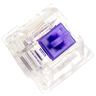 62g Purple Zealios V2 Keyswitch - PCB Mount - Tactile - 10 Pack