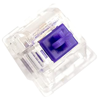 67g Purple Zealios V2 Keyswitch - PCB Mount - Tactile - 10 Pack