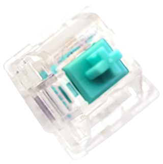 Tiffany Blue Tealio V2 Keyswitch - PCB Mount - Linear - 10 Pack