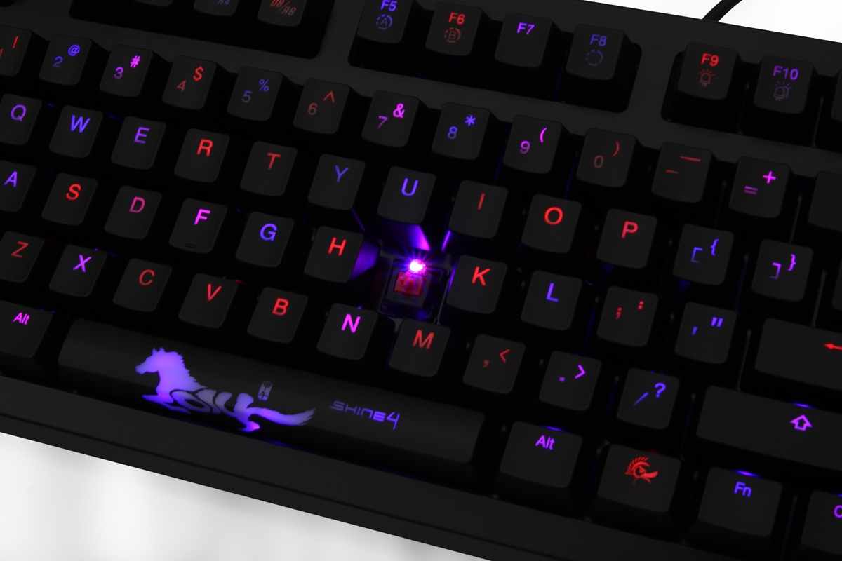 how to clean sticking cherry switch keyboar
