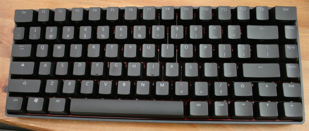Vortex Race Green LED TKL Mechanical Keyboard with Cherry MX Blue, or Red  switches