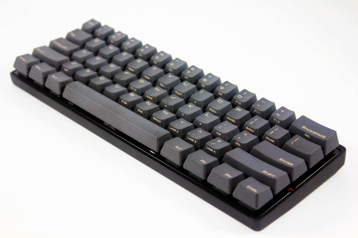 Vortex Pok3r 60 Pbt Mechanical Keyboard Clear Cherry Mx