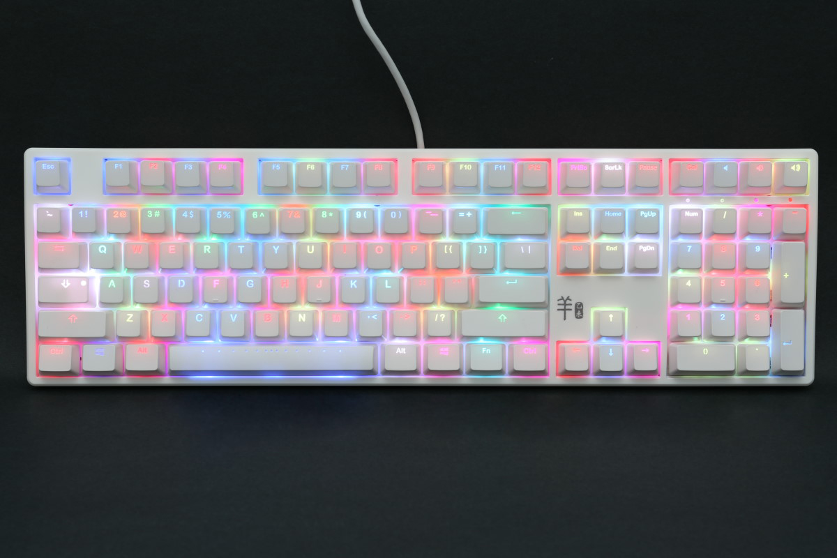 Ducky Year Of The Goat Rgb Led Double Shot Mechanical