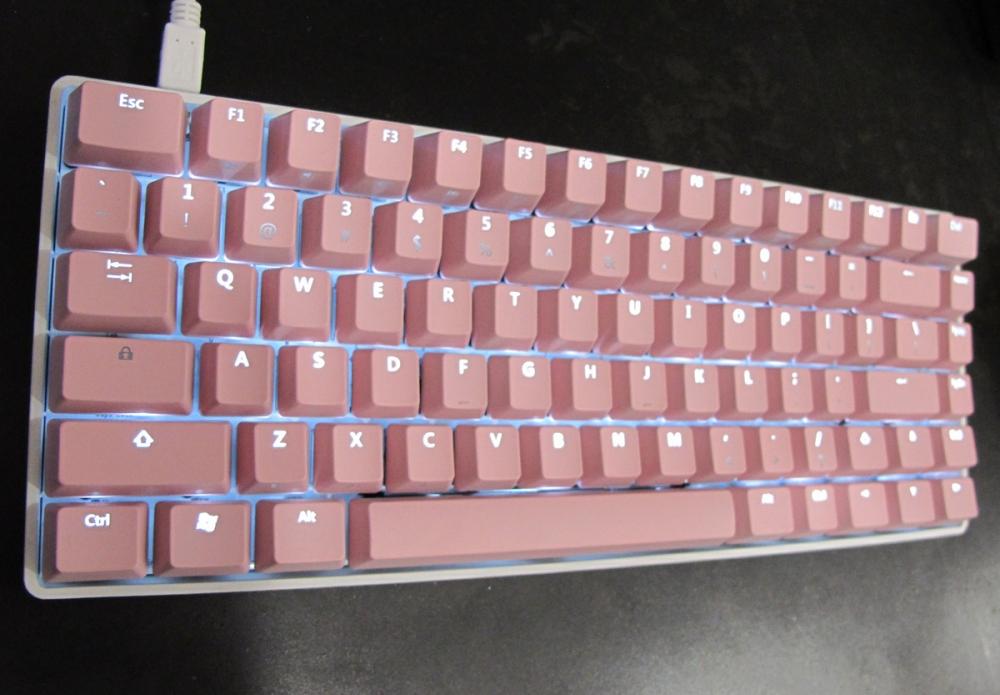 Vortex Race White Led Tkl Mechanical Keyboard Blue Cherry Mx