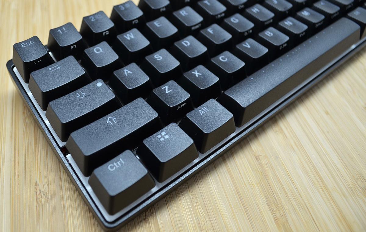 Vortex POK3R Black Case RGB LED 60% Mechanical Keyboard with Cherry ... 73d56507657f5