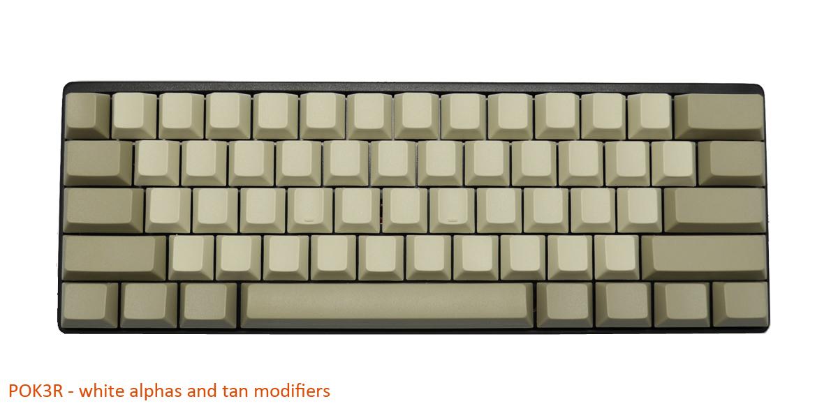 Blank Black PBT Keycaps - 120 Keycaps (Gateron)