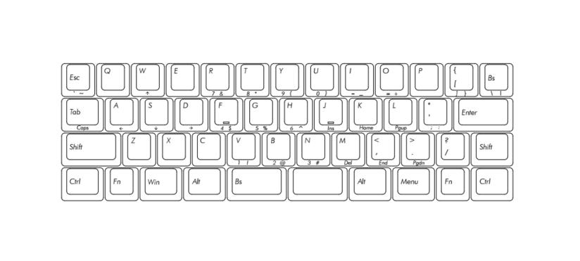 JD45 - Black Standard Case - DIY Kit (Carpe Keyboards)