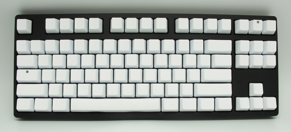 ducky g2 pro tkl blank pbt mechanical keyboard red cherry mx