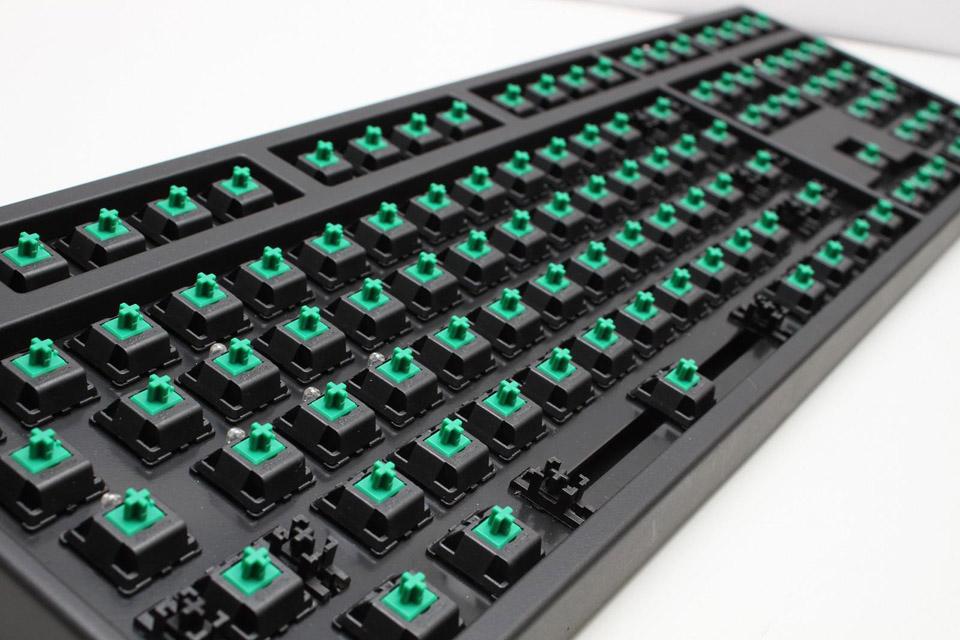 Ducky G2 Pro Pbt Mechanical Keyboard Green Cherry Mx