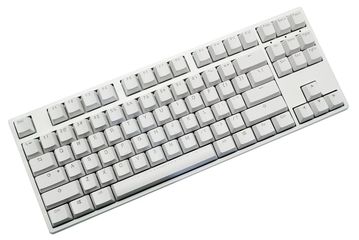 Ducky One Rgb White Tkl Mechanical Keyboard Blue Cherry Mx