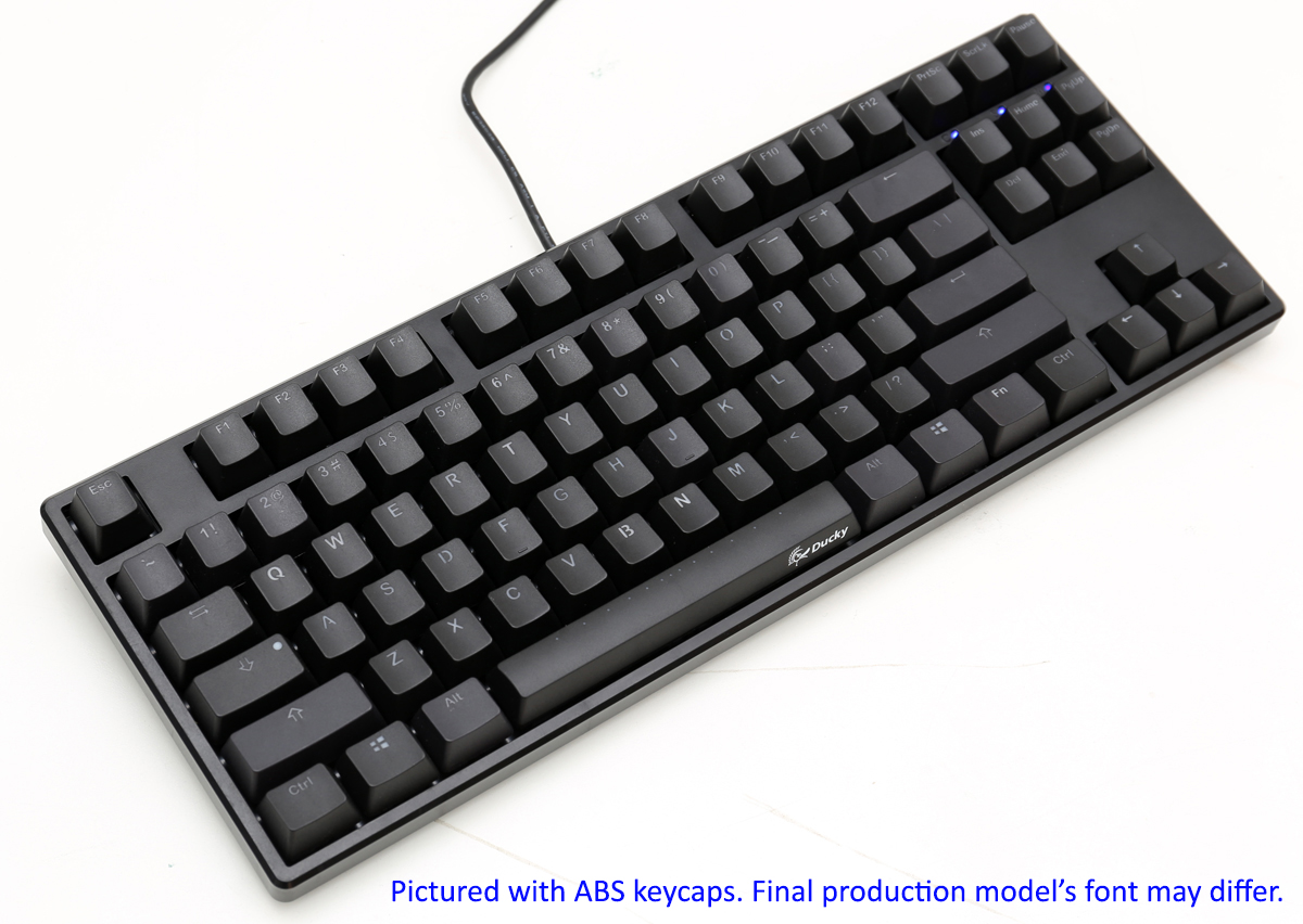 dc21ec167a9 Ducky One TKL PBT Double Shot PBT Mechanical Keyboard with ...