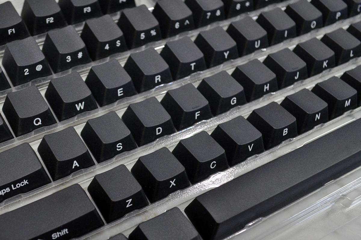 108-Key PBT Black Side Print Keycap Set (Ducky)