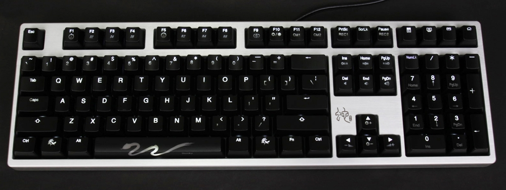 Ducky Year Of The Snake White LED Mechanical Keyboard