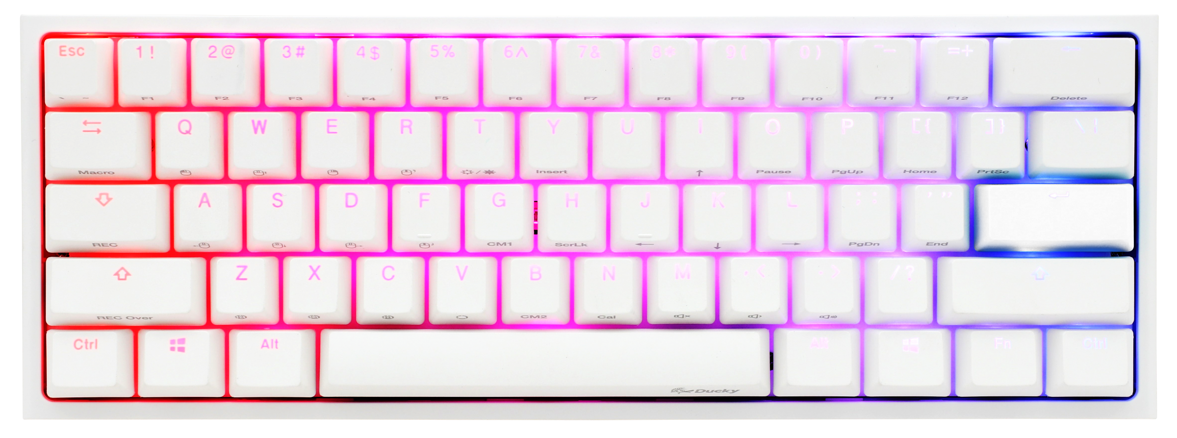Ducky One 2 Mini v2 White RGB