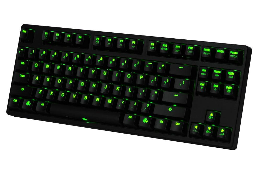 Ducky Shine 3 Green Led Tkl Mechanical Keyboard Brown