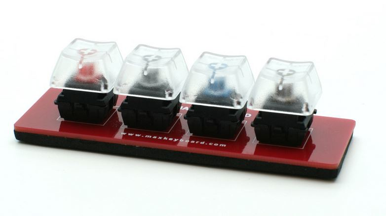 Cherry MX Switch, O-Ring Sampler Tester Kit by Max Keyboard