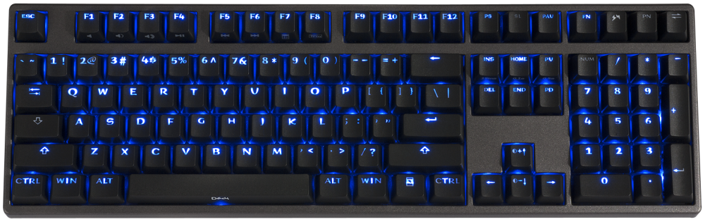 Deck Hassium Pro Blue Led Double Shot Pbt Mechanical