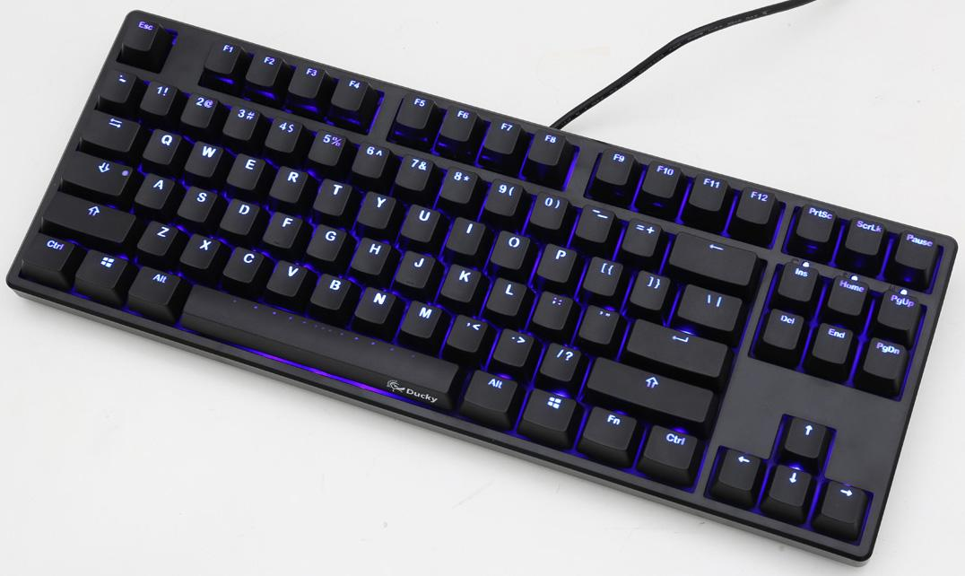 f2202d80359 Ducky One TKL PBT Blue LED Double Shot PBT Mechanical ...