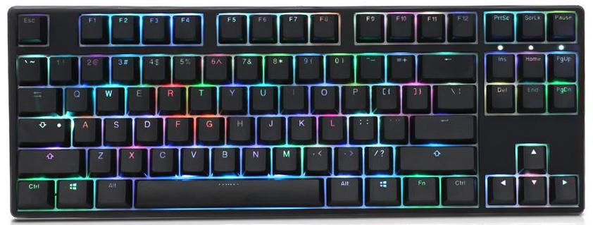 1559b122dac Ducky One Black TKL RGB Mechanical Keyboard. Available Switches
