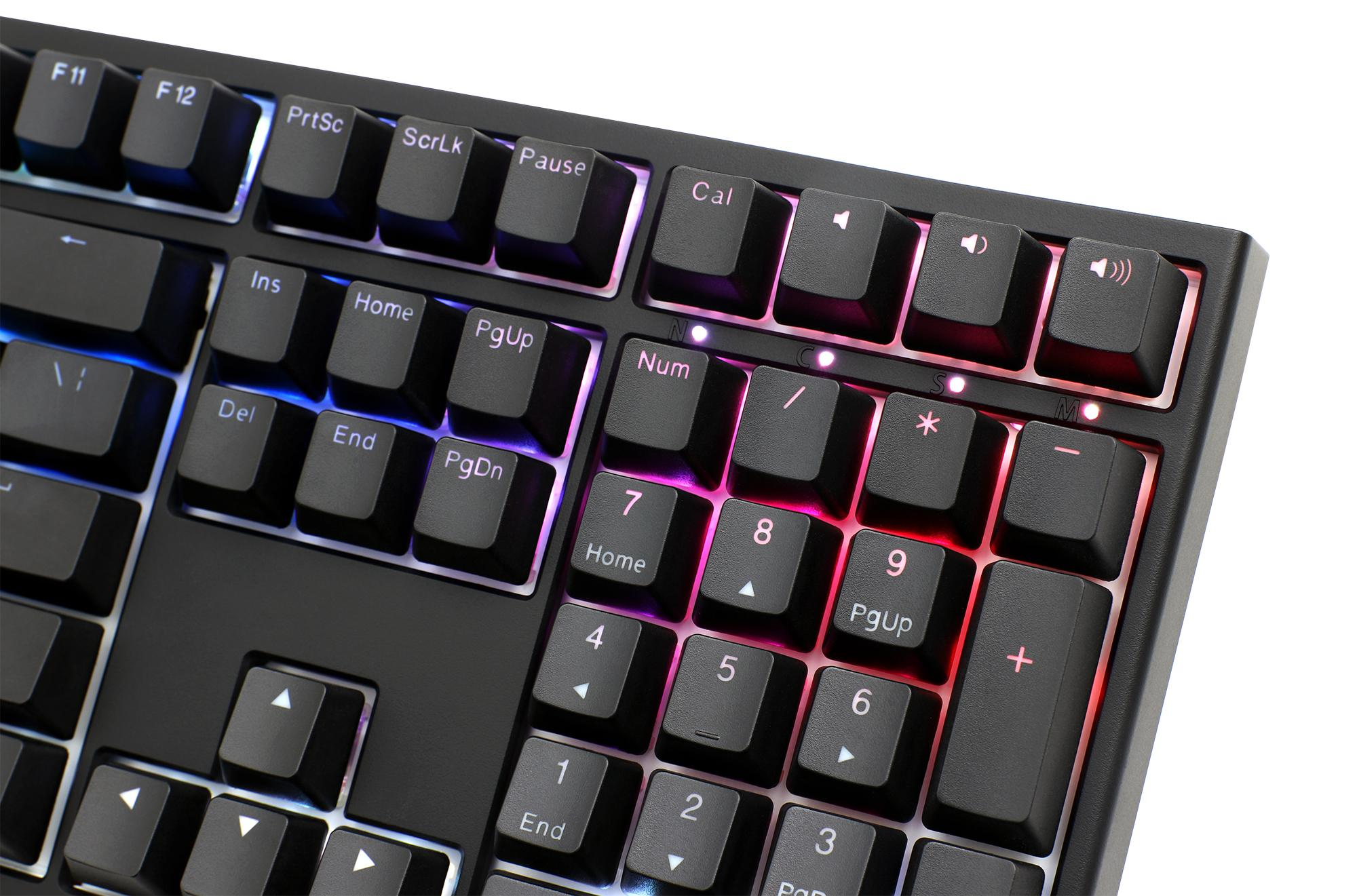 Ducky One 2 RGB LED Double Shot PBT Mechanical Keyboard with Cherry MX  Black, Brown, Blue, Red, Nature White, Silver, or Silent Red switches