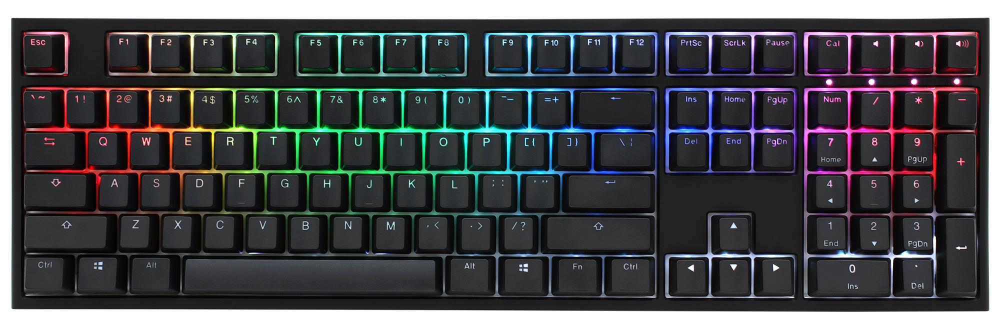 Ducky One 2 Rgb Led Double Shot Pbt Mechanical Keyboard