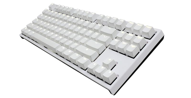 Ducky One 2 White Case TKL Double Shot PBT