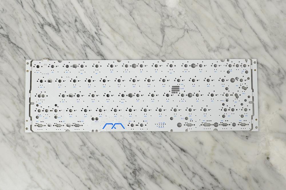 FaceW 60% White PCB - SPRiT Edition by Mechanical Keyboards Inc