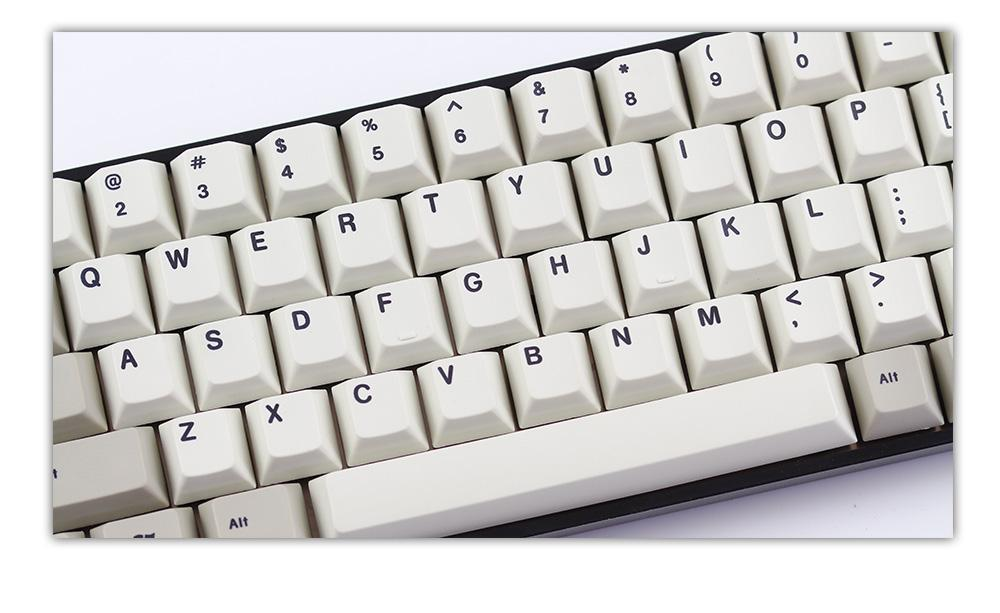 KBDFans TADA68 Dye Sub PBT Mechanical Keyboard with Gateron Black, Red,  Blue, or BrownCherry MX Red, Blue, or Brown switches