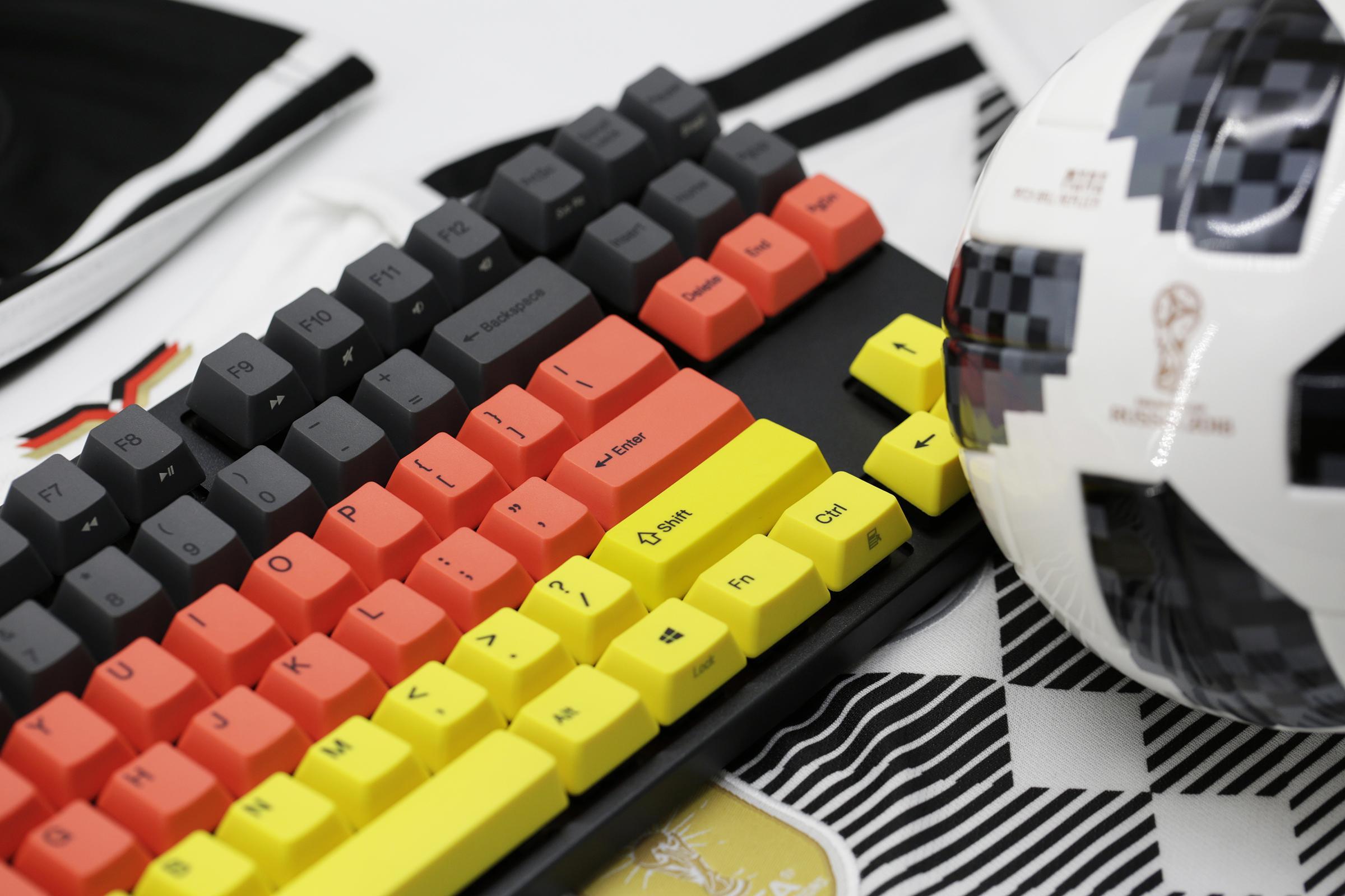 74799677d08 Varmilo VA87M Football / Soccer Germany Mechanical Keyboard. Available  Switches