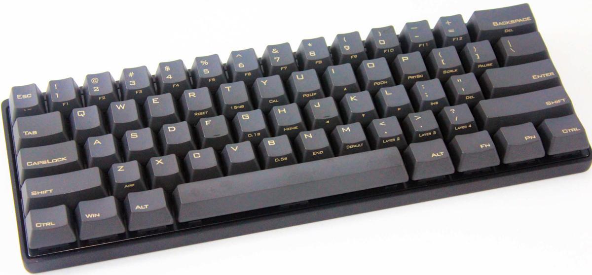 30f6d273371 Vortex POK3R 60% PBT Mechanical Keyboard (Brown Cherry MX)
