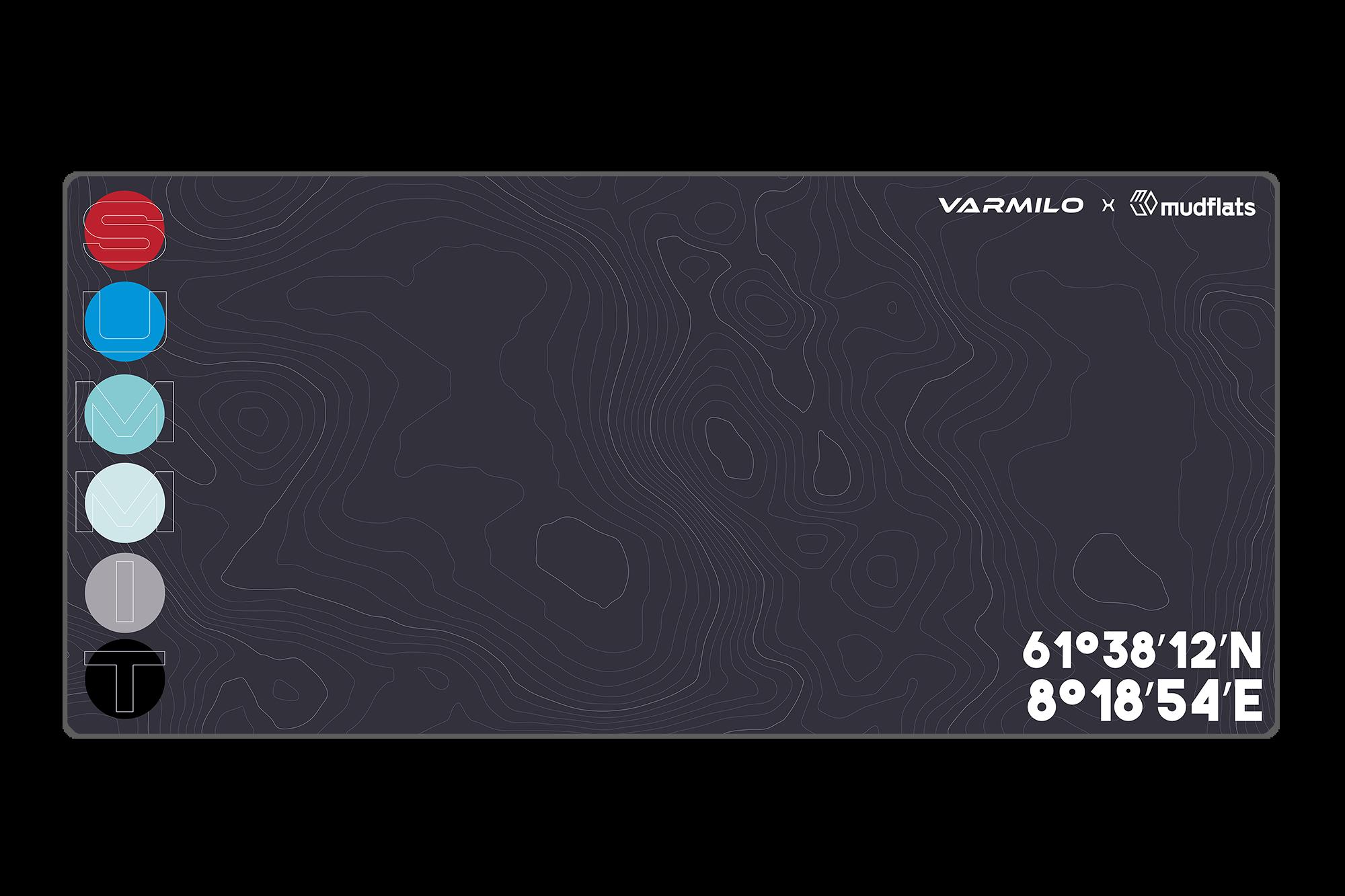 Extra Large Summit Desk Pad Mat With Stitched Edges Varmilo