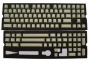 Blank Tan PBT Keycaps - 120 Keycaps