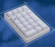 FC210 White PBT Numeric Keypad  (Red Cherry MX) <span class='ltd'>(< 5)</span>