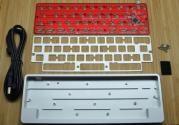 JD45 - Silver Blocked Case - DIY Kit (Carpe Keyboards) <span class='sold'>**Sold Out**</span>