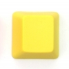 6 Key Blank PBT Gamer Keycap Set - Yellow  <span>*New*</span>