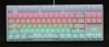 One White TKL RGB LED  (Red Cherry MX)