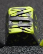 Hammer MUMMIE Artisan Keycap - Black & Green Blend  <span class='ltd'>(< 10)</span>