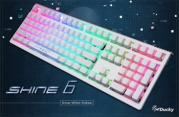 Shine 6 Snow White Edition  (Black Cherry MX) <span class='ltd'>(< 5)</span>
