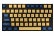 108-key PBT DSA Profile Keycap Set - Blue and Yellow