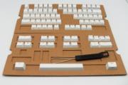 Dual ABS Cherry MX Keycap Set- White